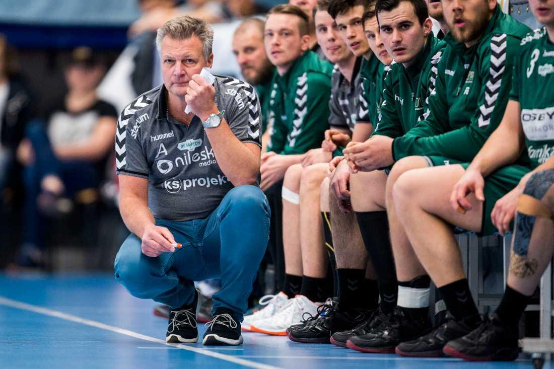 Helsingborgs tränare Ulf Sivertsson