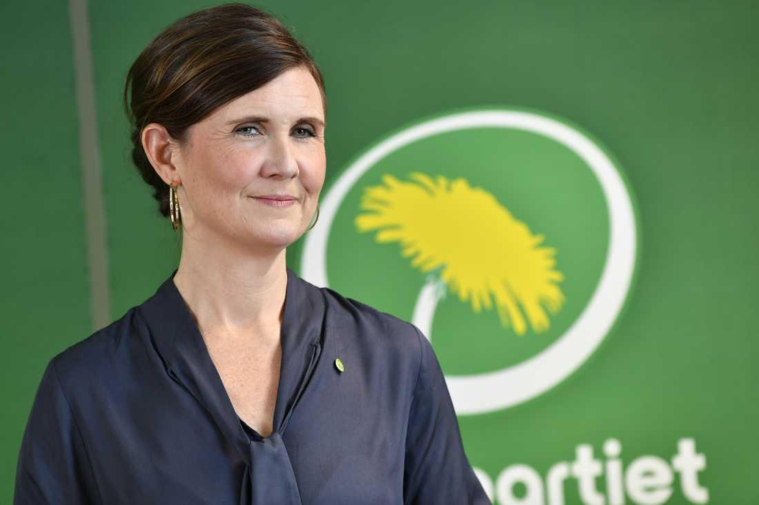 Partisekreteraren Märta Stenevi får konkurrens om att bli nytt språkrör för Miljöpartiet. Arkivbild.