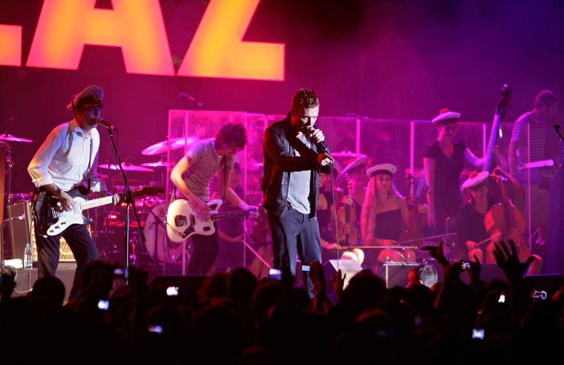 """Bandet kommer att uppträda med låtar från sin nya skiva """"Humanz""""."""