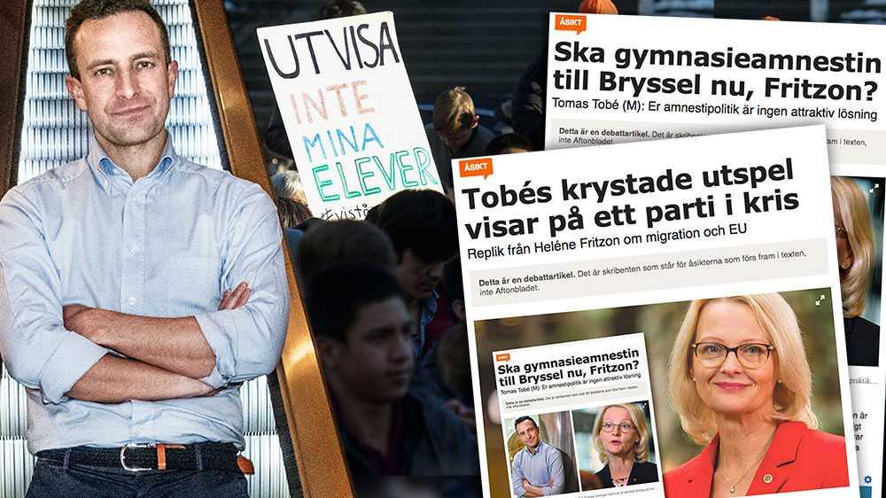 Oavsett vad Heléne Fritzon (S) försöker ge sken av så inför Socialdemokraterna nu återigen en mer generös invandringspolitik i Sverige. Gymnasieamnestin, som Fritzon ansvarade för, var allt annat än reglerad och rättssäker, skriver Tomas Tobé (M).