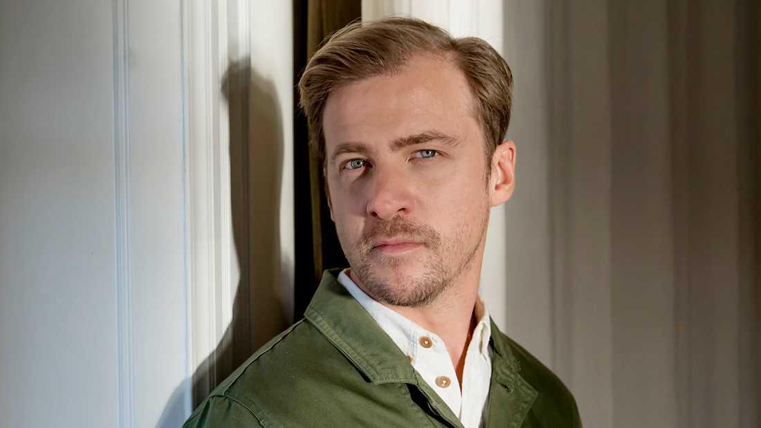 Skådespelaren Erik Johansson.