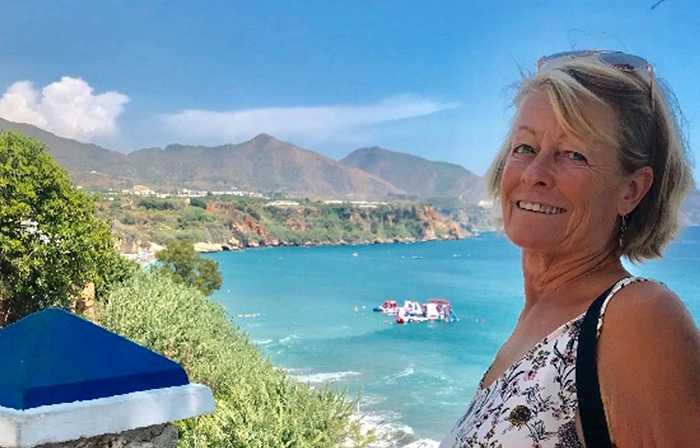 """""""Språkresa för oss 50-plussare är en fantastisk upplevelse. Jag är jättenöjd med resan, allt var toppen. Jag rekommenderar alla som är intresserade att åka"""", säger Ingrid Larsson."""