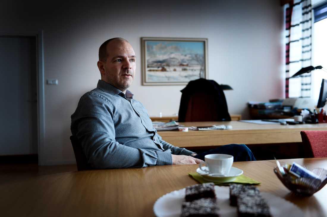 Kommunalrådet Niklas Sirén (V).