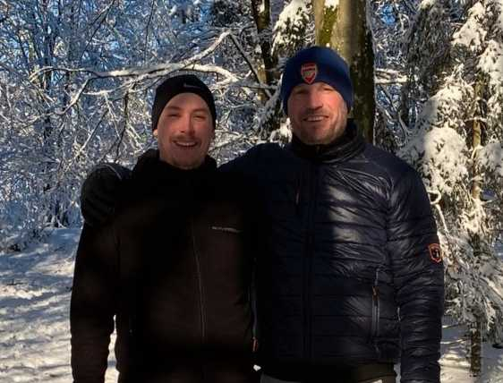 Joakim, 29, och hans pappa Johnny, 47.