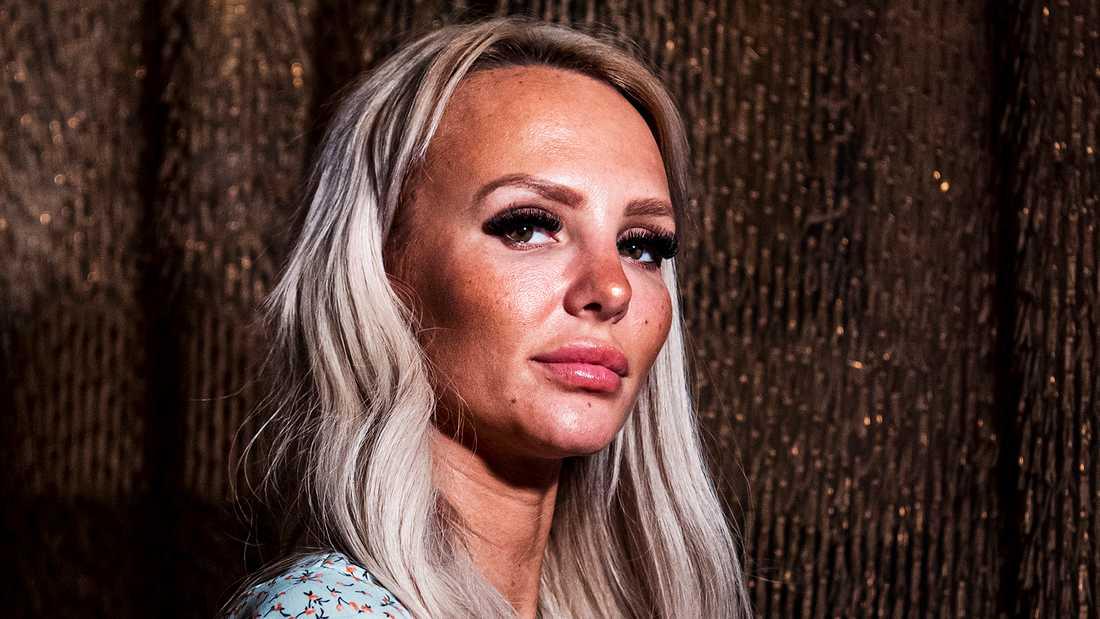 """Paulina """"Paow"""" Danielsson har hittat tillbaka till sitt ex."""
