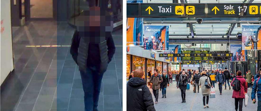 En bomb med samma laddning som vid terrordåden i London 2005. Det färdades en 19-åring med i Malmö – förvarandes  i en nötburk. Nu åtalas han för förberedelse till allmänfarlig ödeläggelse och grovt vapenbrott.