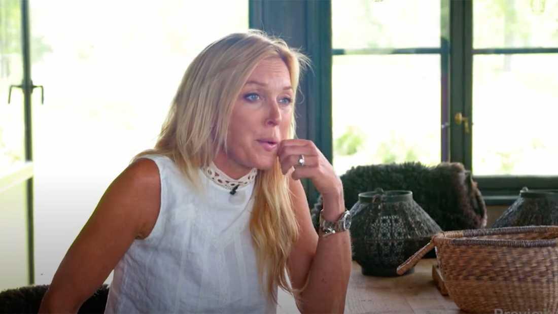 Programledaren Linda Lindorff.