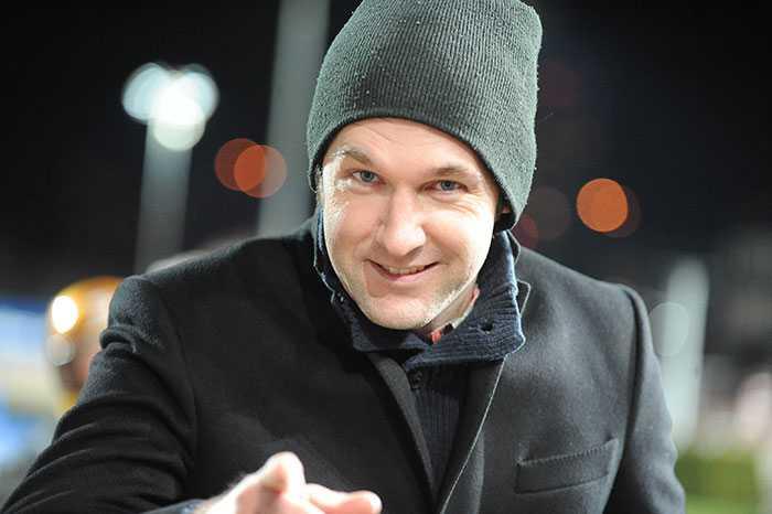 Delägaren i Venkatesh, Daniel Olenklint.