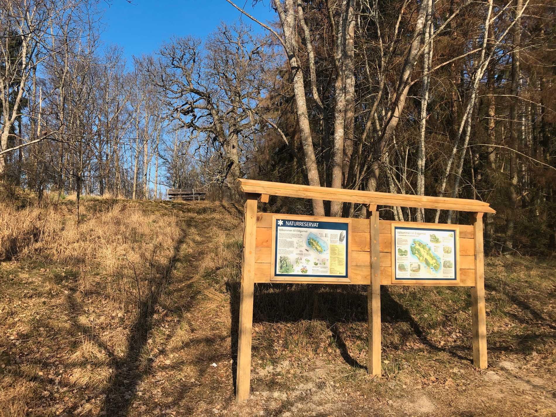 Naturereservatet på Eldgarnsö blir allt mer populärt enligt Länsstyrelsen Stockholm.