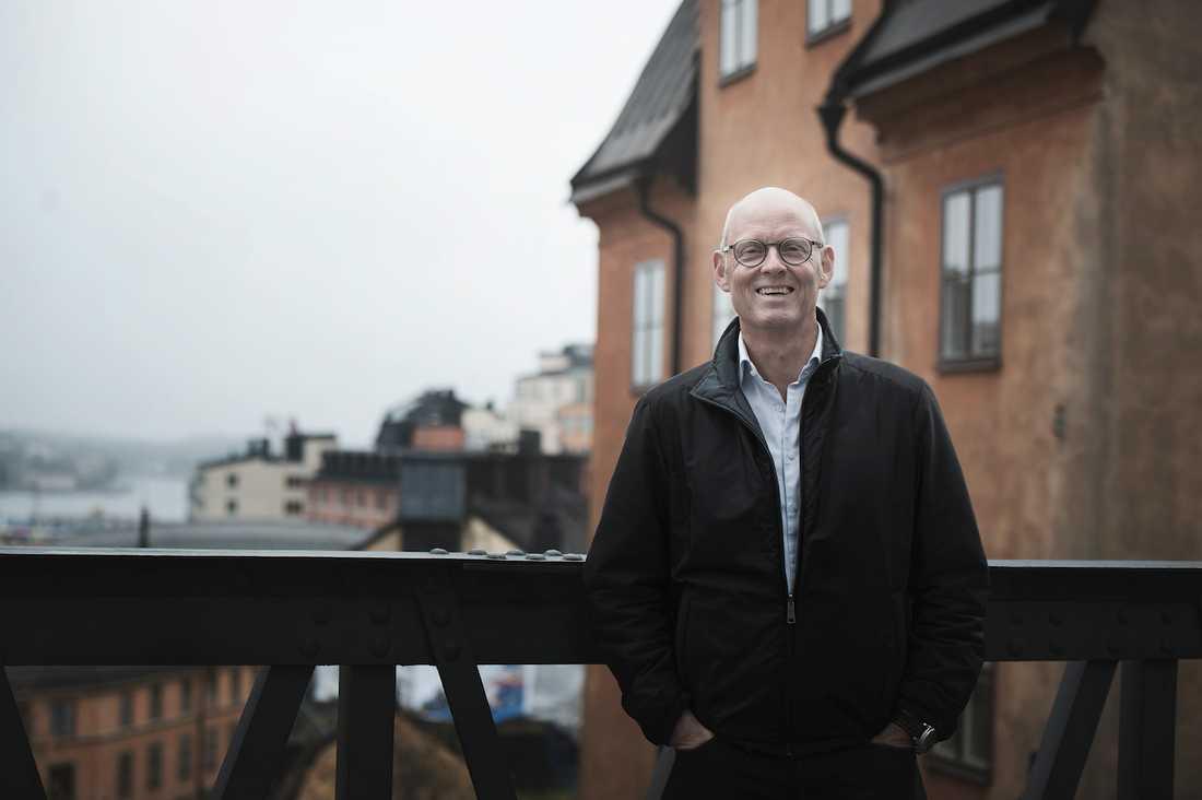 """Ser läkaren som konsult """"Jag menar att läkaren är en slags konsult, så därför ska man tala med två eller tre"""", säger Lars Murman, 58."""