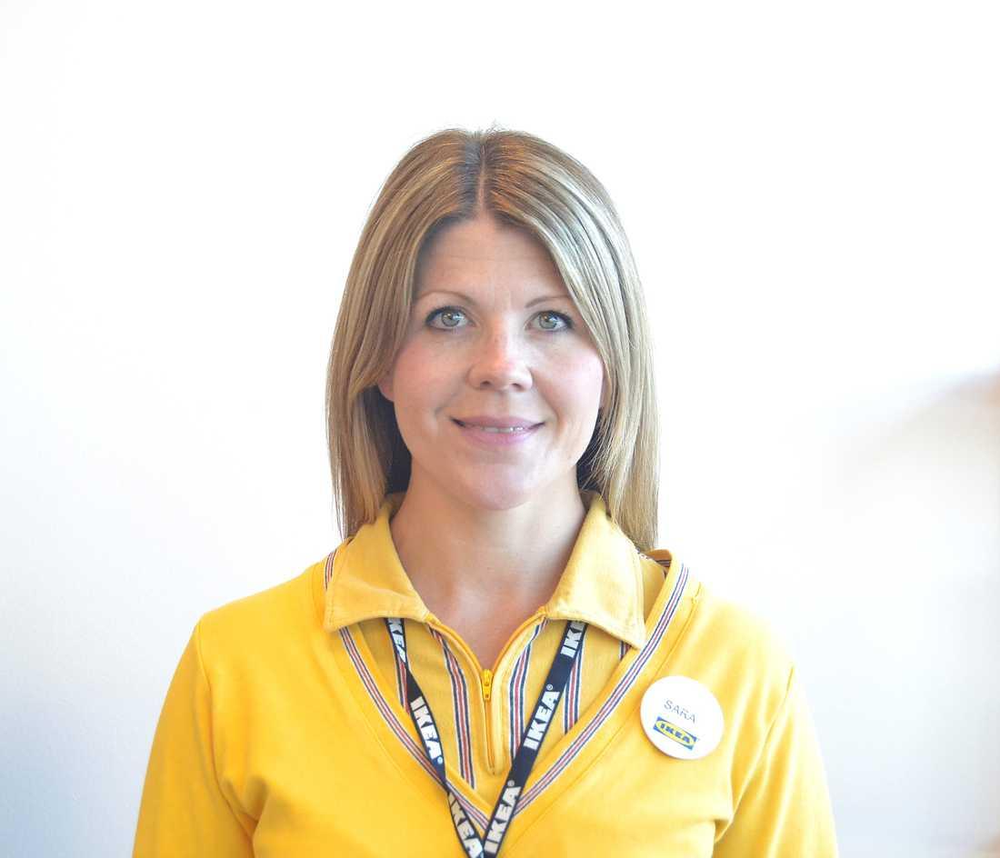 Sara Bergström, kundrelationschef på Ikea Borlänge.
