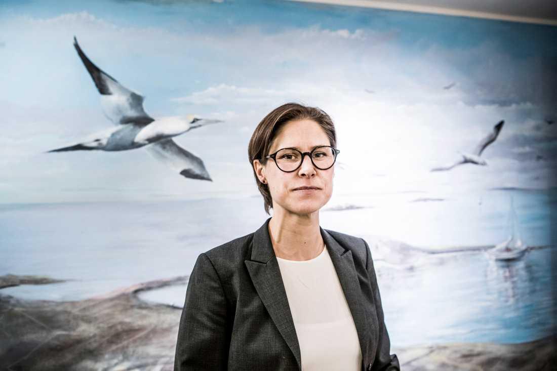 Johanna Sandahl, Naturskyddsföreningens ordförande.