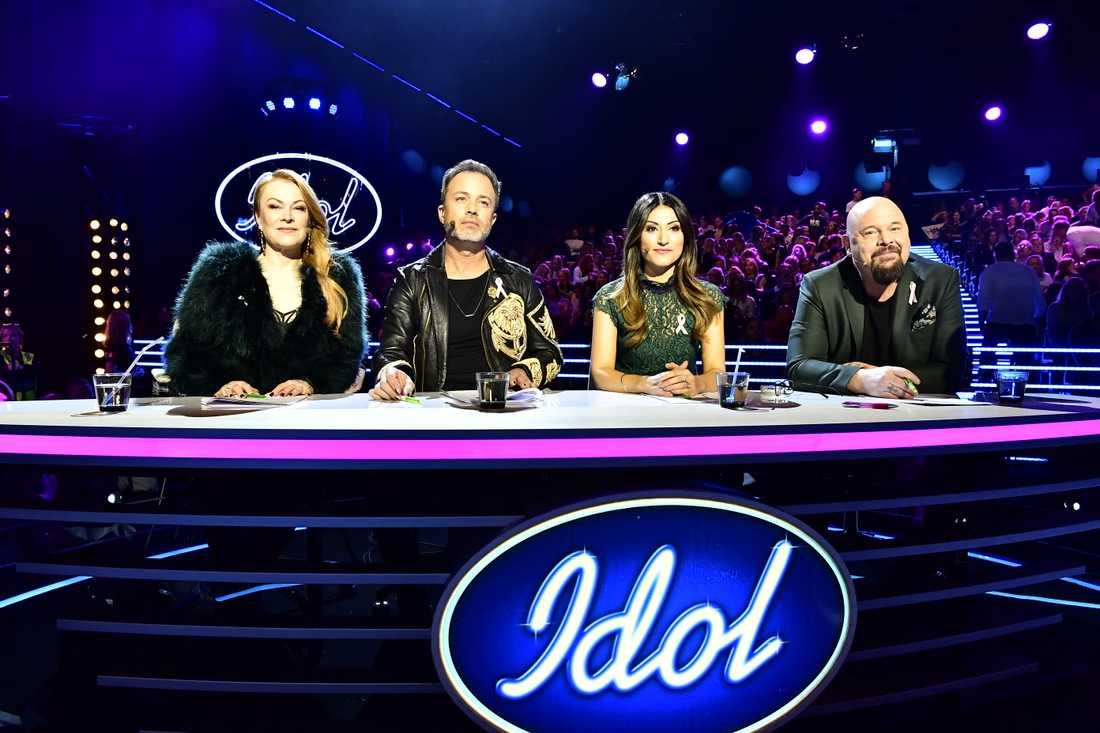 """""""Idol""""-juryn."""