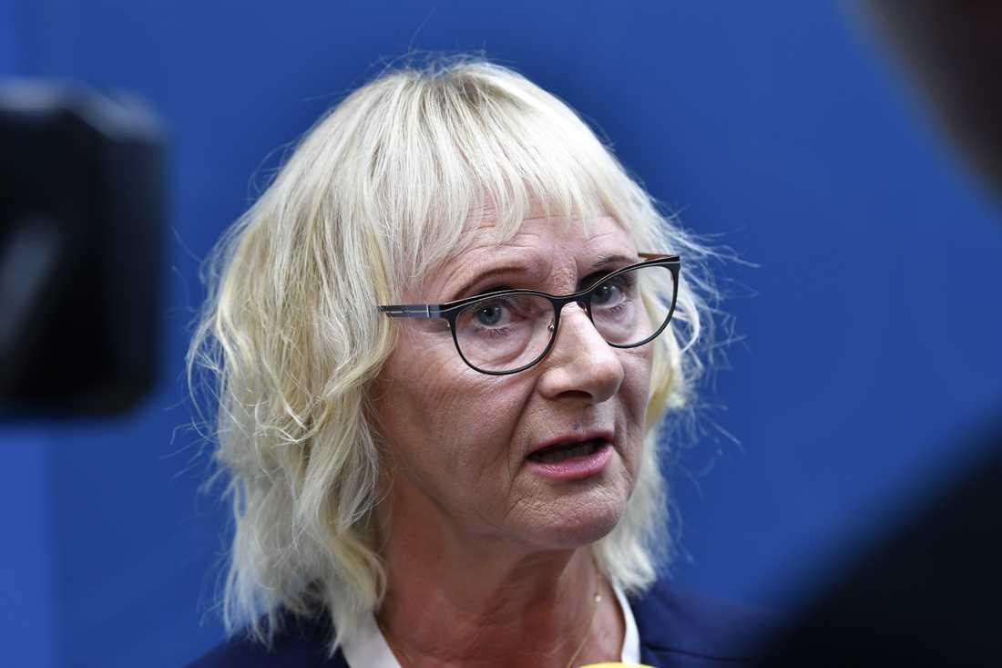 Lena Micko (S), civilminister. Arkivbild.