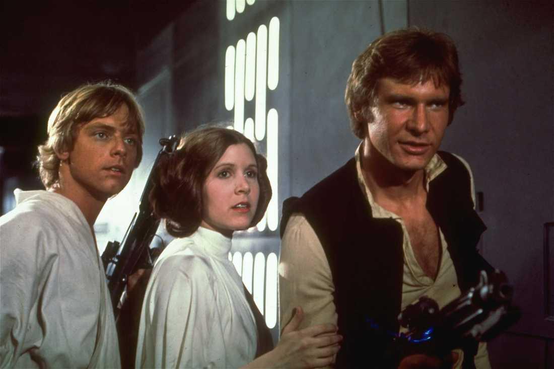 Luke, Leia och Han!