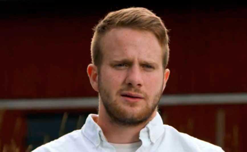 "Erik Bäckman i ""Bonde söker fru""."
