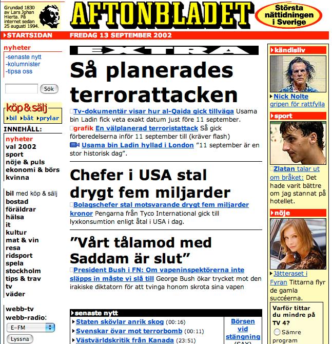 Aftonbladet 2002.