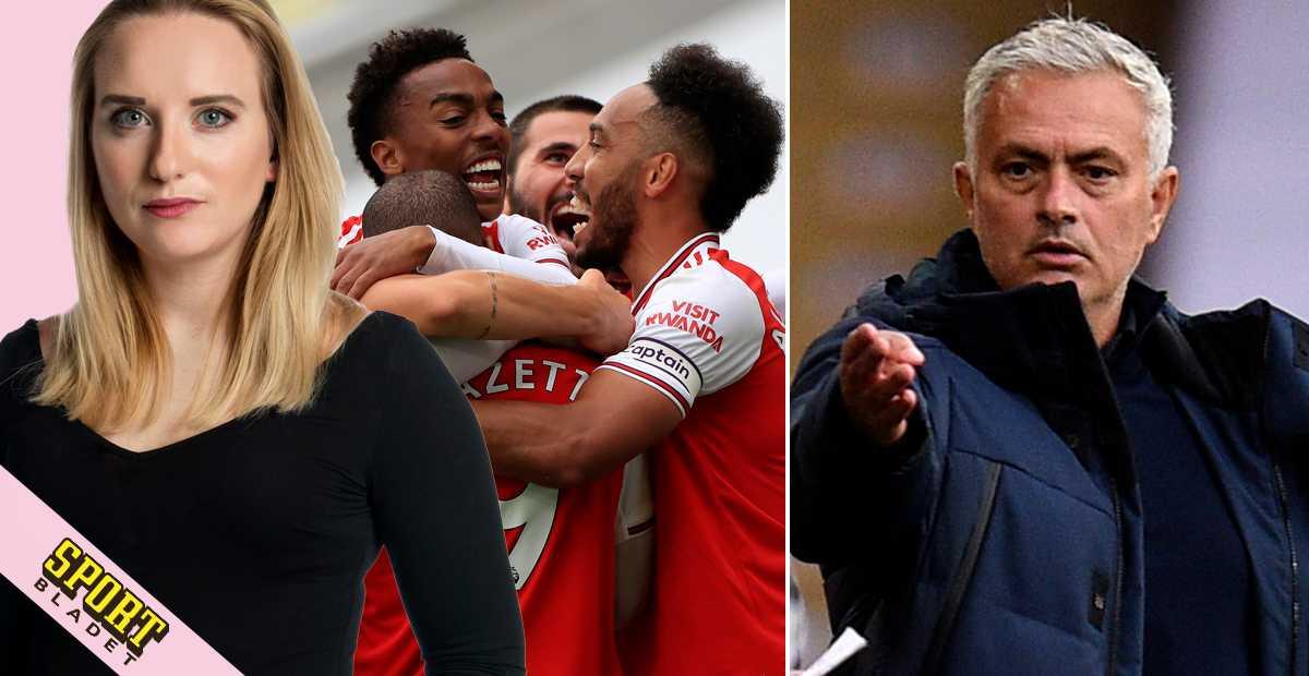 """Mourinho: """"Arsenal har inte mycket att fira..."""""""