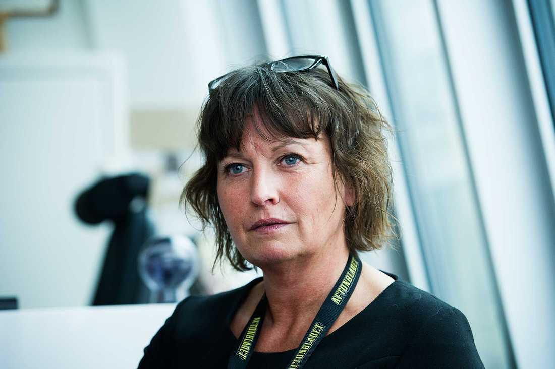 Aftonbladets publisher Sofia Olsson-Olsén.