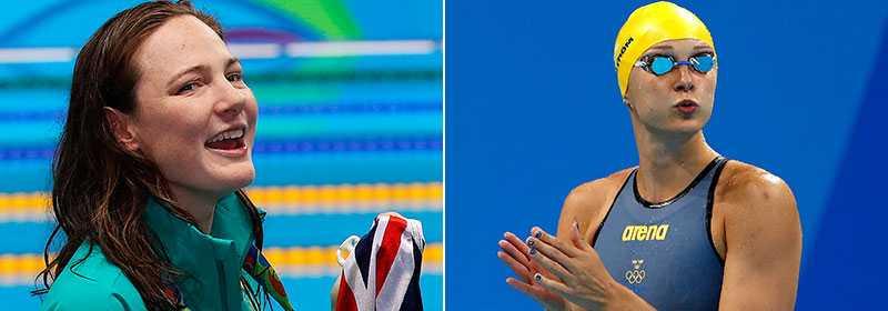 Sarah Sjöström ser gärna att konkurrenten Cate Campbell tar guld på 100 meter frisim.