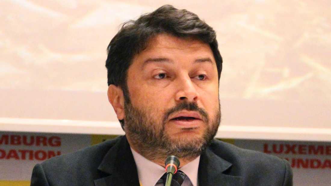 Amnestys lokale turkiske ordförande Taner Kilic. Bilden är från 2016.