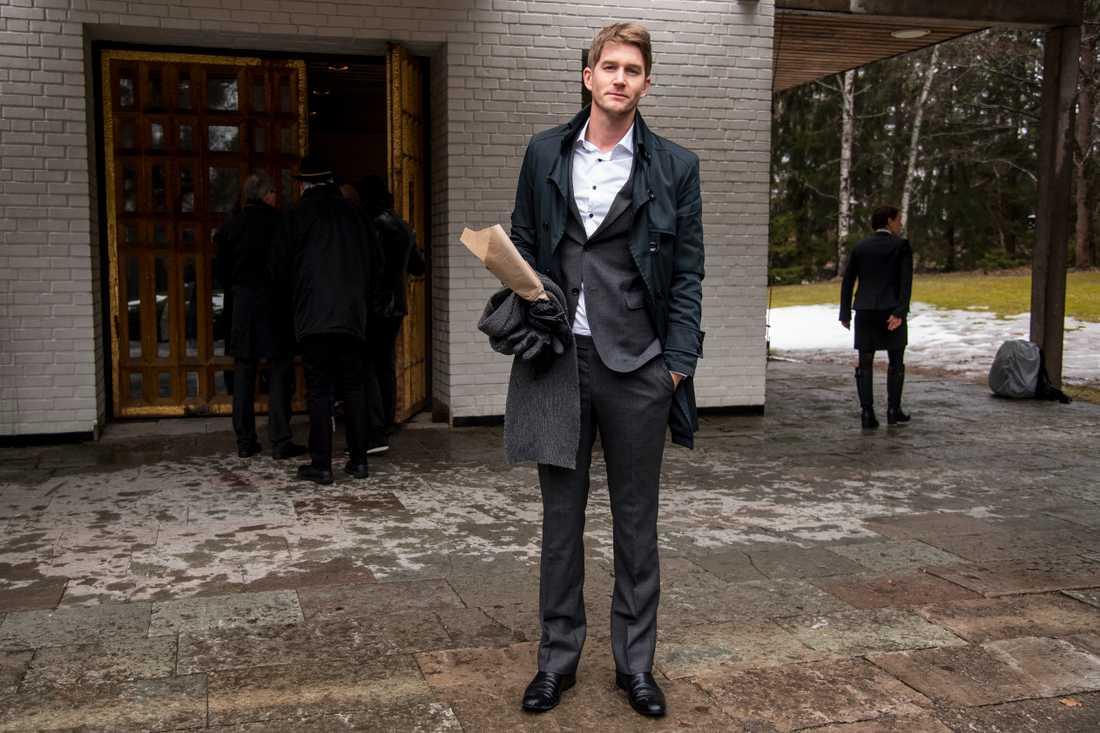 Artisten och låtskrivaren Erik Linder.