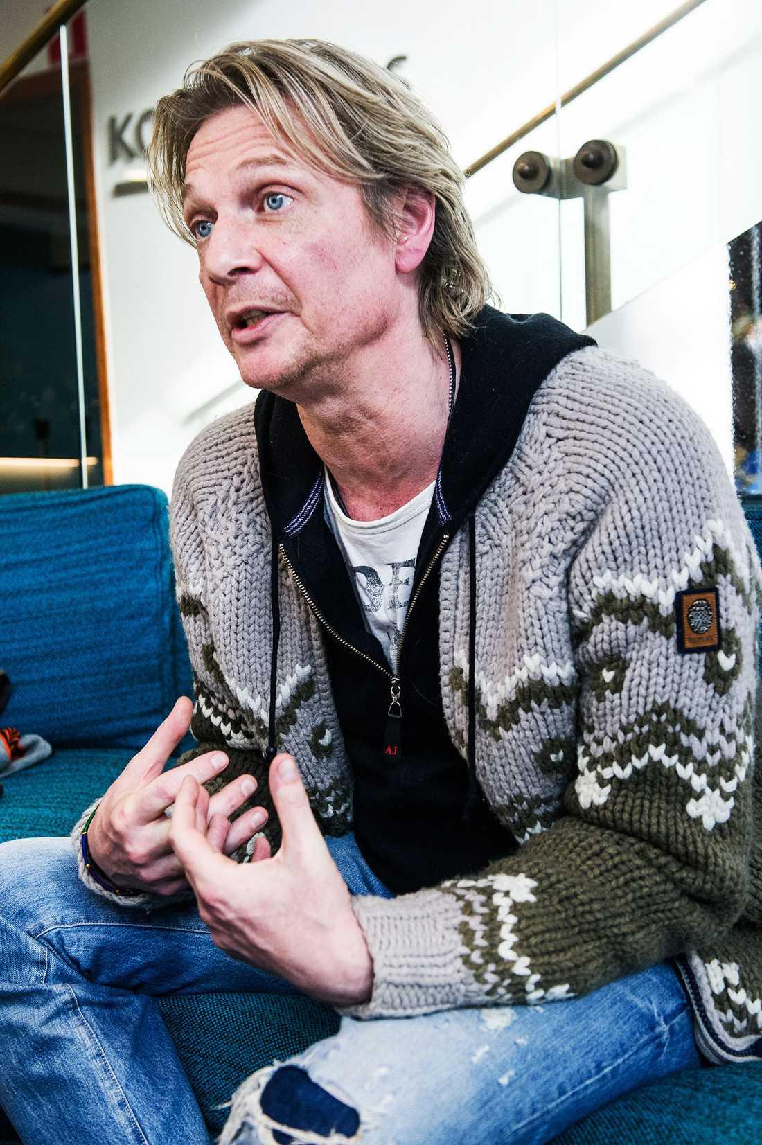 """INTE BLACK LÄNGRE Under tisdagen pratade Tommy Nilsson ut om pr-kuppen. """"Vi var noga med att se till att det var så tokigt att det inte kan vara sant"""" berättar han för Nöjesbladet."""