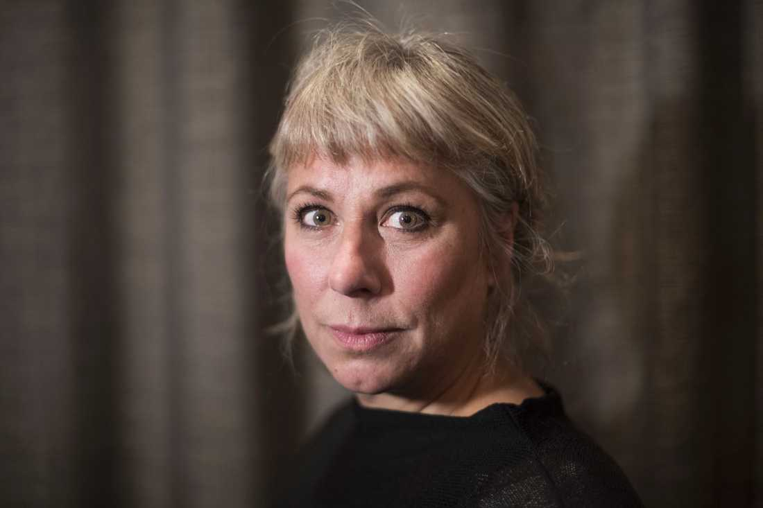 Författaren och konstnären Stina Wollter.