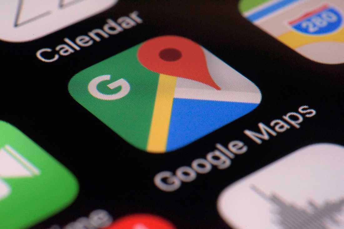 Google spårar sina användares rörelser även om de valt att inte låta det göras. Arkivbild.
