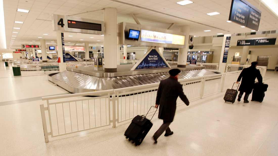 Juice Wrld anlände till Midway-flygplatsen i Chicago när tragedin inträffade (arkivbild).