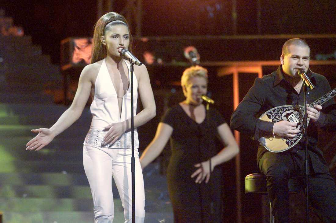 Antique i Eurovision song contest 2001.