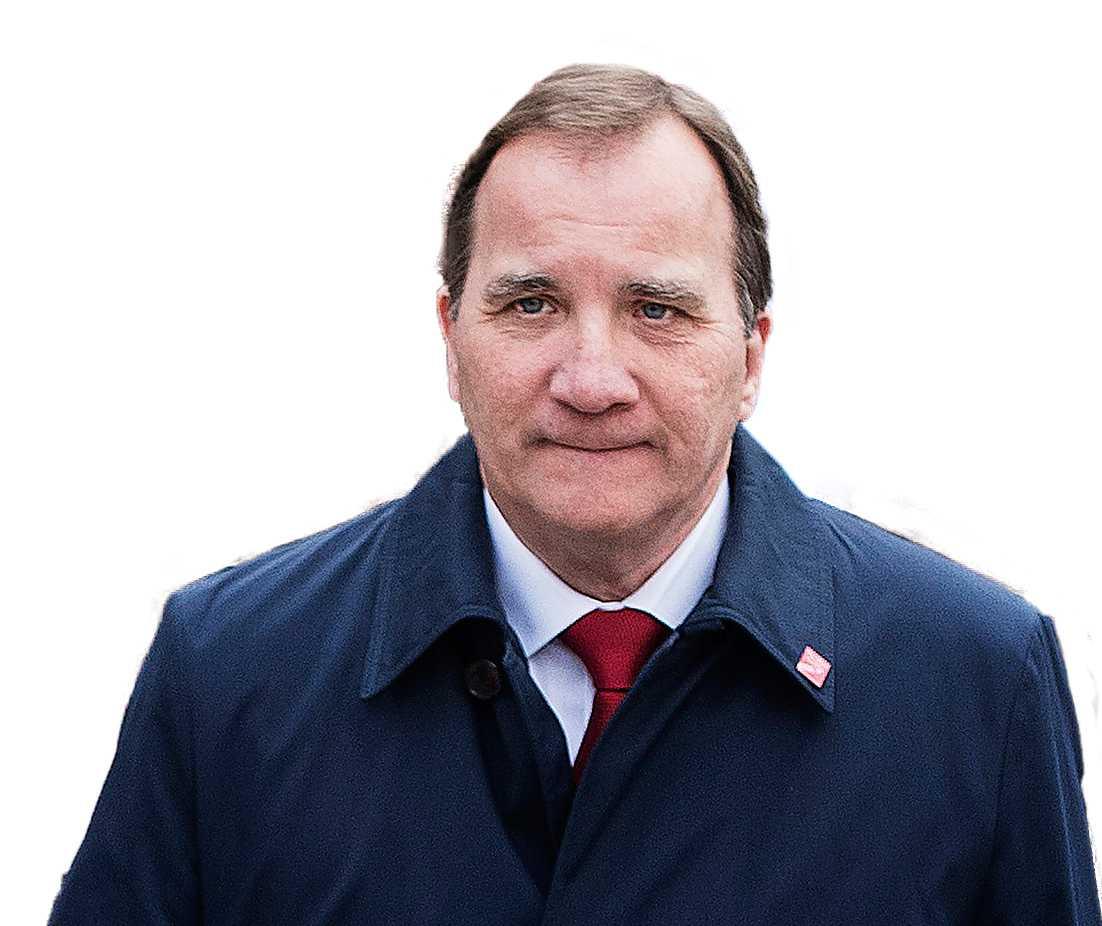 S-ledaren Stefan Löven. Foto: Anna Tärnhuvud