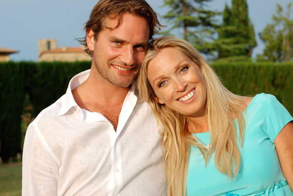 Linda och maken Jacob Lindorff.
