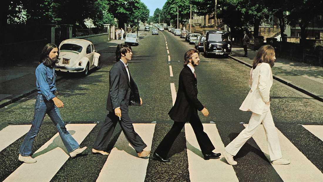 Abbey Road, London, klockan 11.35 den 8 augusti 1969.