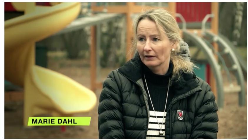 Conrads mamma Marie Dahl