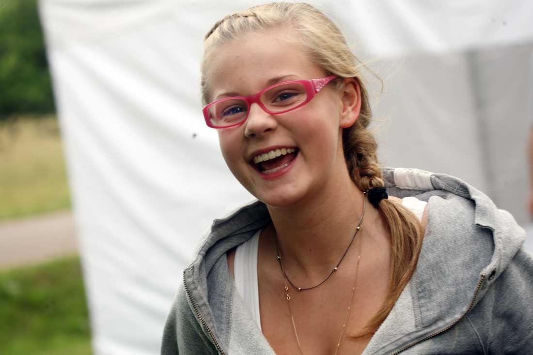 Helenas och Colins dotter Molly, 15, har en stor roll i den nya filmen.