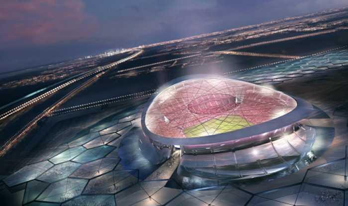 Lusail Iconic Stadium, Al-Daayen. Kapacitet: 86 250. Här ska VM-finalen spelas.
