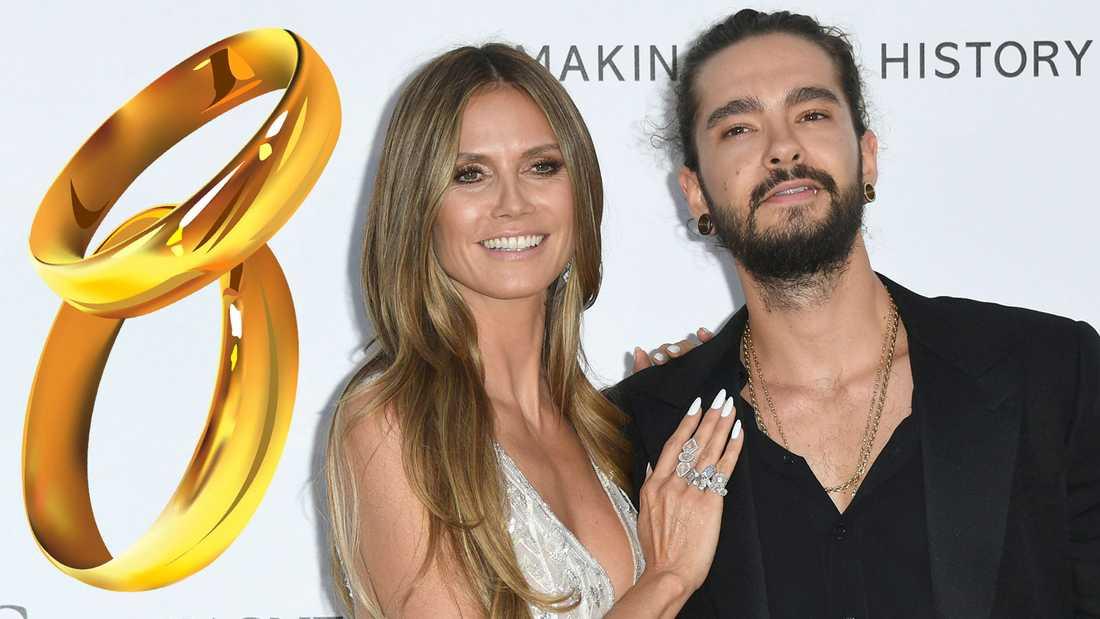 Heidi Klum och Tom Kaulitz har förlovat sig.