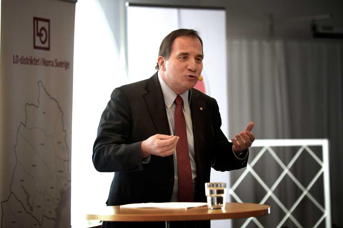 S-ledaren Stefan Löfven.