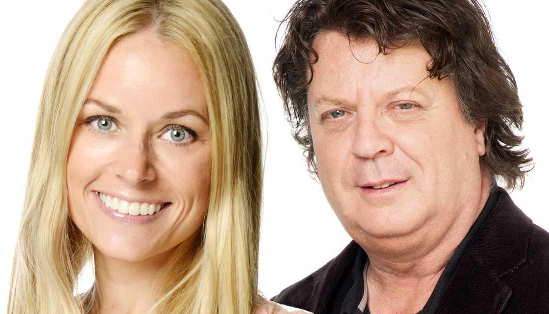Karolina Fjellborg och Jan-Olov Andersson.