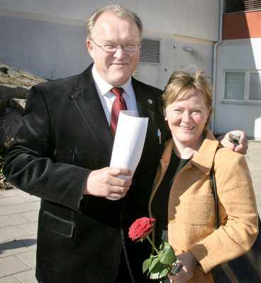 Får bygga Göran Persson och Anitra Steen får behålla sitt bygglov.