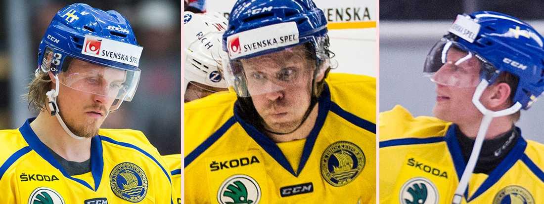 Mattias Tedenby och Richard Gynge är två av de som får lämna.
