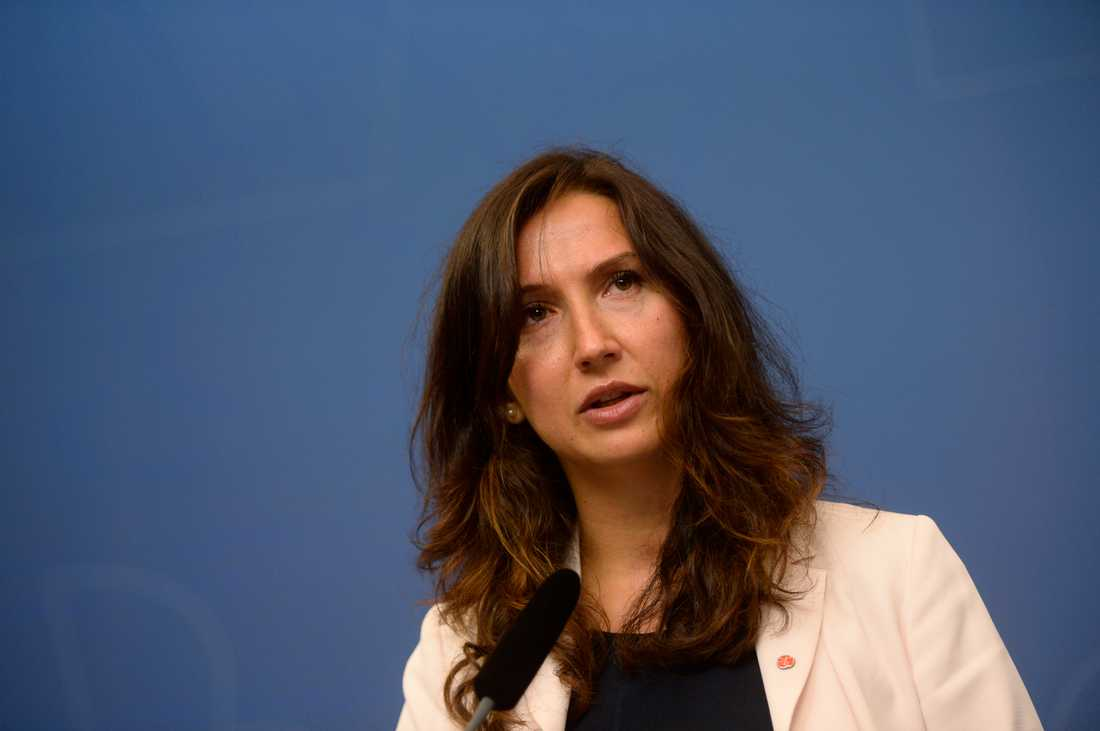 Tidigare gymnasie- och kunskapsminister Aida Hadzialic (S) kan vara på väg tillbaka efter debaclet med rattonykterheten. Arkivbild.
