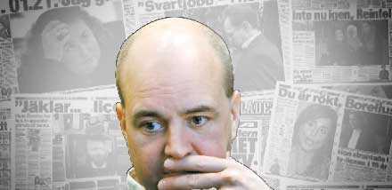 Höga företrädare för moderaterna gör tvärtemot partiets, och Reinfeldts, politik. Bilden är ett montage.