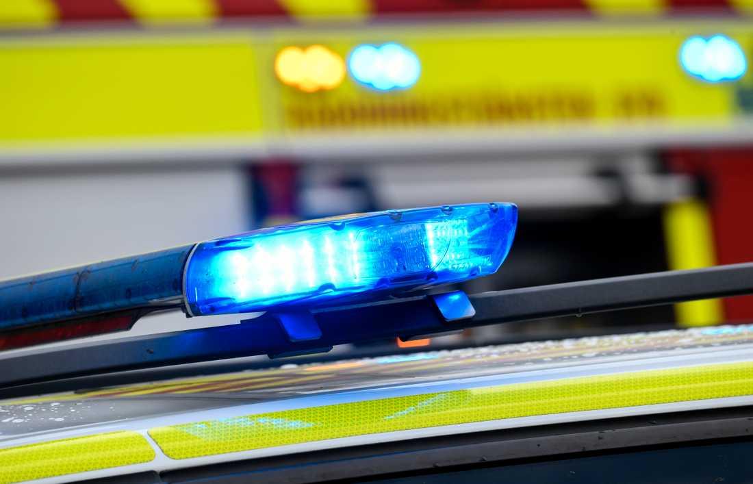 Fem personer har förts till sjukhus efter en frontalkrock norr om Mullsjö på söndagskvällen. Arkivbild.