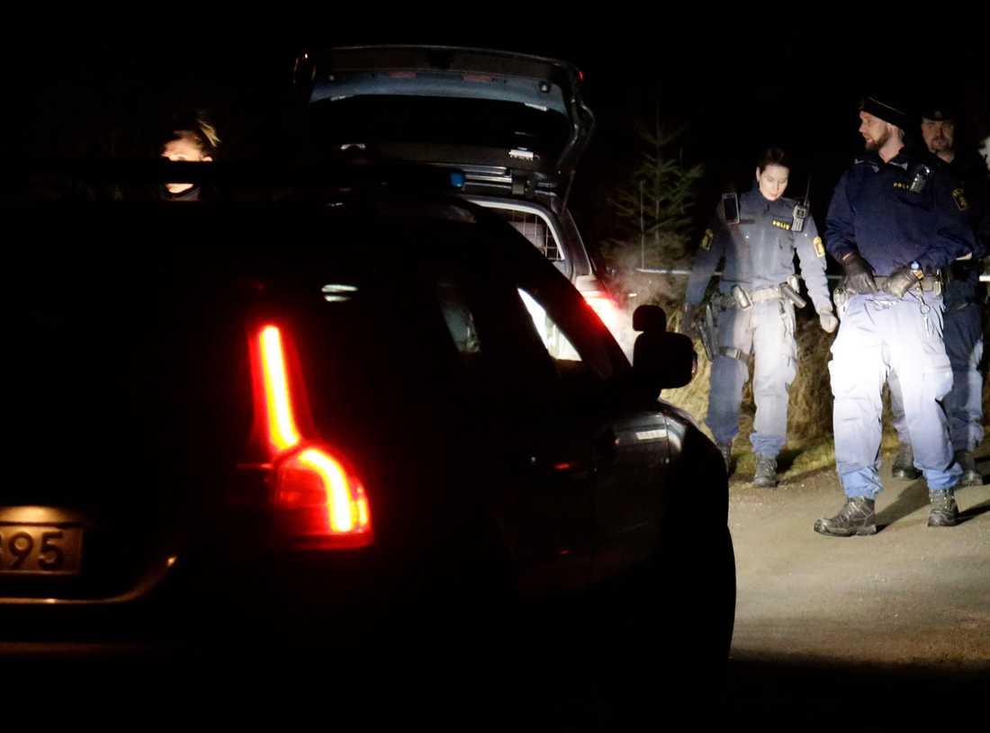 Den 73-åriga kvinnan hittades död på en gård i Kungsbacka.
