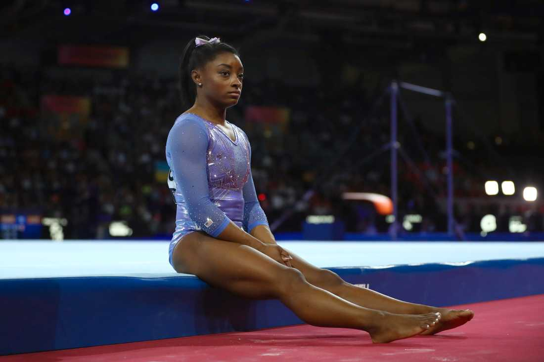 Gymnastikstjärnan Simone Biles var en av dem som utsattes för övergrepp av landslagsläkaren.