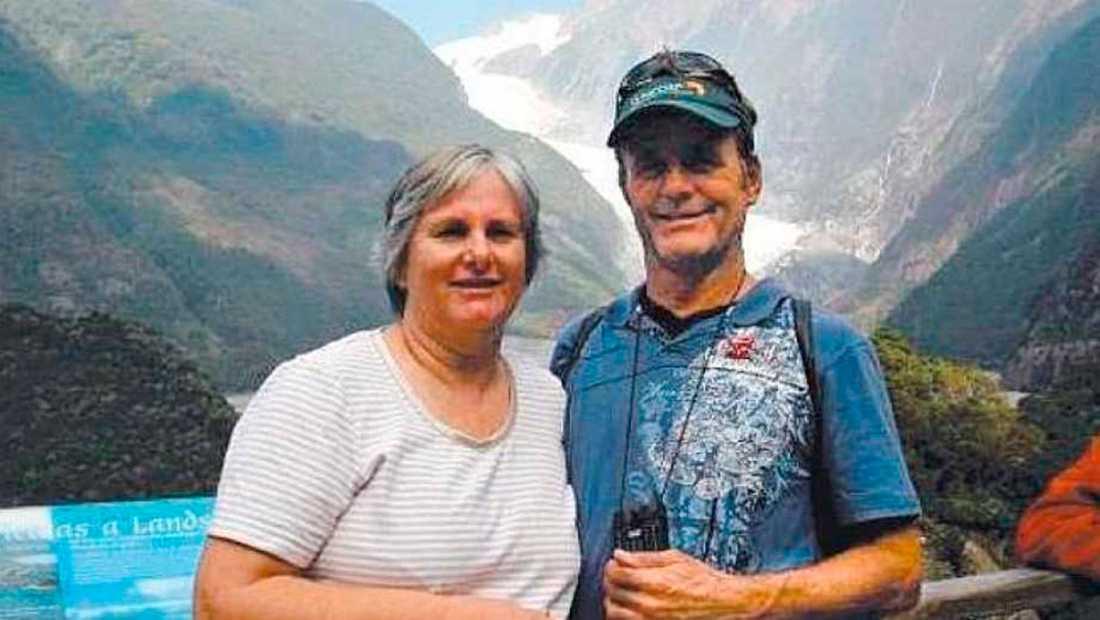 Catherine och Robert Lawton från Springfield Lake var ombord på Malaysian airlines flight MH370 från Kuala Lumpur till Beijing.