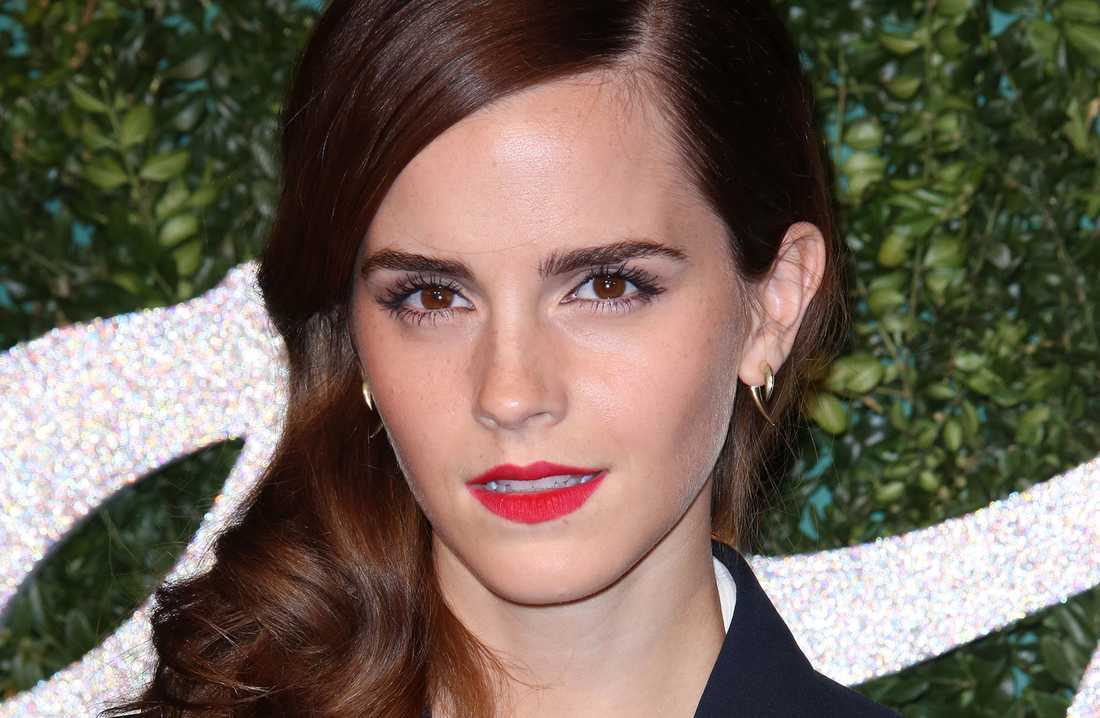 Emma Watson på British Fashion Awards, London i början av december.