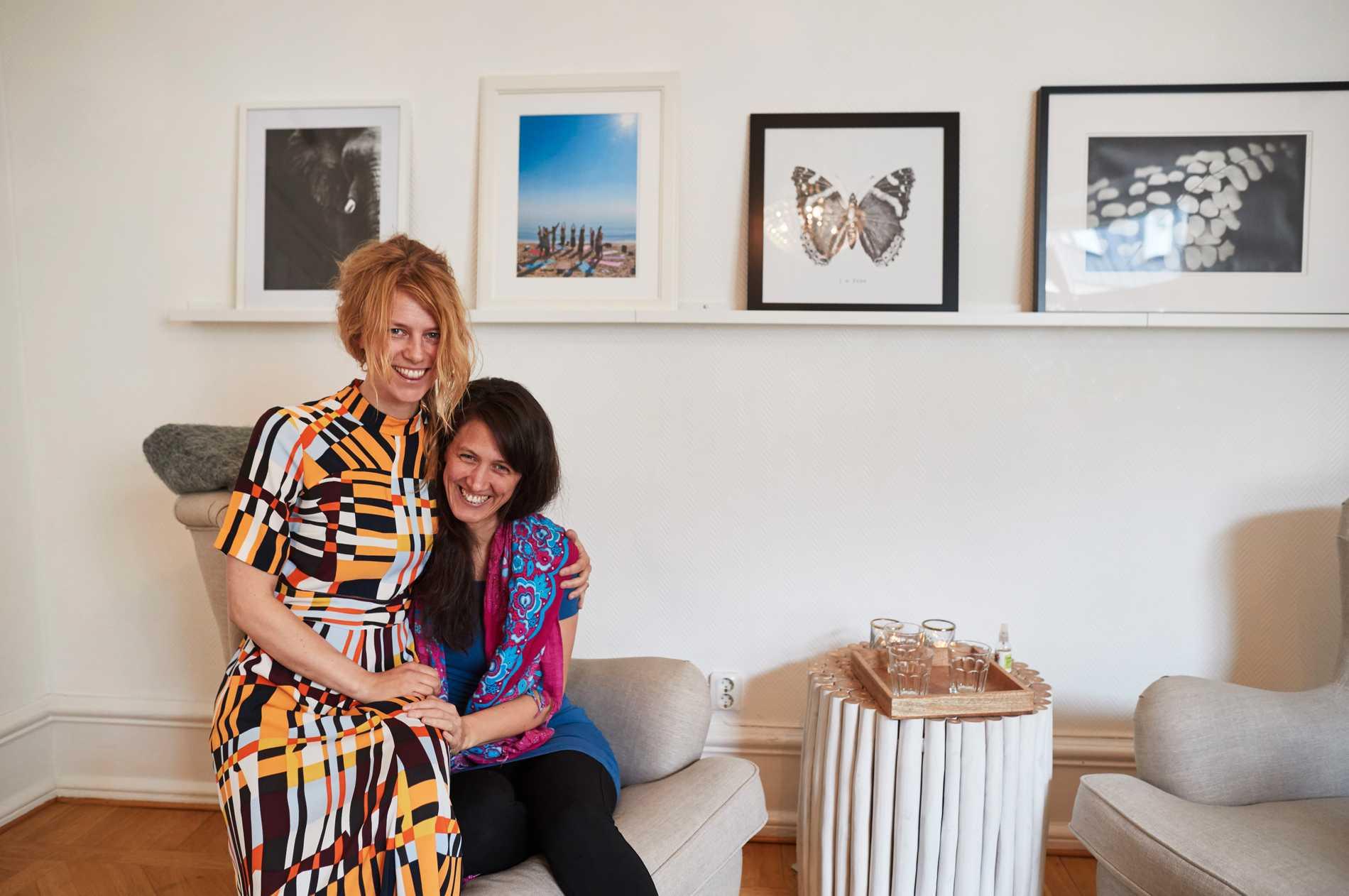 Malin Sandell och Ina Elverljung önskar att de vetat tidigare att de är högkänsliga.